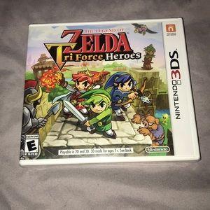 The Legend of Zelda Tri-Force Heroes (Unopened)